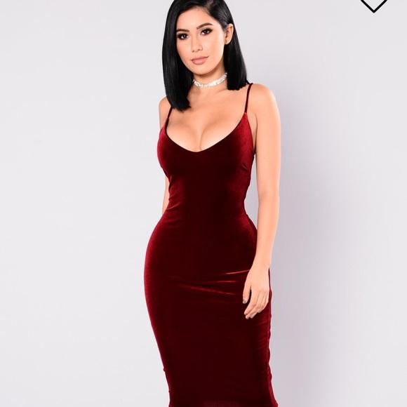 il più votato genuino in arrivo numerosi in varietà Fashion Nova Dresses | Burgundy Dress | Poshmark